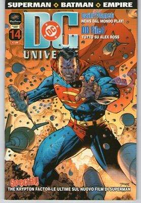 DC UNIVERSE n. 14 - Play Press - SUPERMAN - BATMAN - EMPIRE - OTTIMO