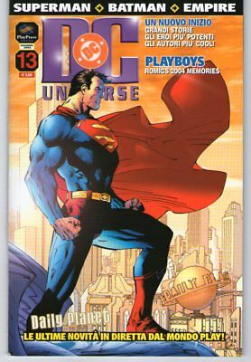 DC UNIVERSE n. 13 - Play Press - SUPERMAN - BATMAN - EMPIRE - OTTIMO