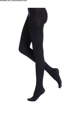 Hue Women's Super Opaque Tights- Medium/Large- NWOT Cute and Warm