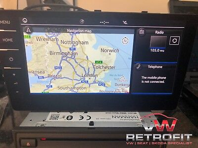 Discover Pro Mib2.5 5Na Sat Nav Carplay With Dab All Active - Cp Removed