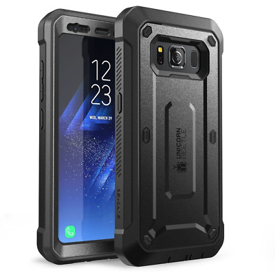 For Samsung Galaxy S6/S7/S8 Active, SUPCASE UBPro Holster Case Cover w/ Screen