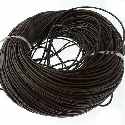 20M Top Genuine Leather Cord Thread For Diy Bracelet Necklace Jewelry Making