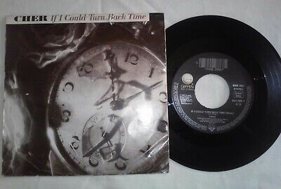 """Cher """"If I Could Turn Back Time"""" Single 7"""""""
