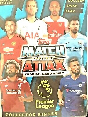 Match Attax 2018/19  Pick 4 Man Of The Match  From List Get 1 Free  Mint