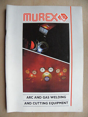 Murex Esab Saffire Welding Products Catalogue Arc Gas Mig Tig Oxy-Acetylene 1996