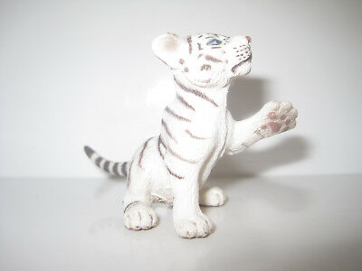 14385 Schleich White Tiger Cub, playing ref:62A46