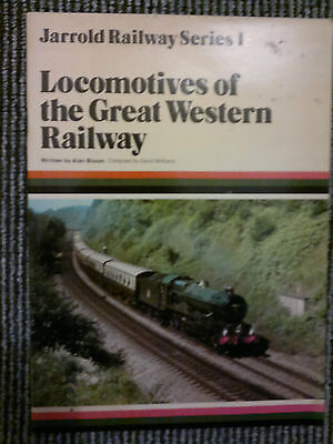 Locomotives of the Great Western Railway by Alan Bloom PB 1980 Trains Steam