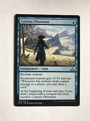 MTG MAGIC GUILDS OF RAVNICA CURIOUS OBSESSION FRENCH OBSESSION CURIEUSE NM X4