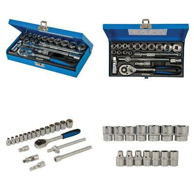 20 Pieces Silverline 868524 Socket Wrench Set 3//8-inch Drive Metric