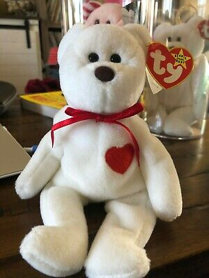 20963bc7e9c EXTREMELY RARE! VALENTINO 1993 Beanie Baby Babies MISPRINT Swing Tag ...