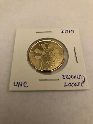 2019 Equality Canadian Loonie Uncirculated Special from RCM Roll
