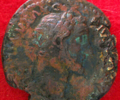 ROMAN COIN Collections:    ANTONINUS PIUS    (Brilliant large coin: great color)