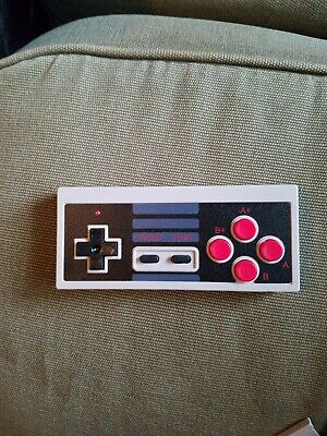 Replacement Wireless Controller Handle for Classic Nintendo NES Game Retro