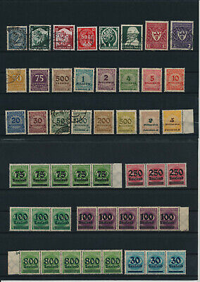 Germany, Deutsches Reich, Nazi, liquidation collection, stamps, Lot,used (CE 53)