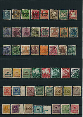Germany, Deutsches Reich, Nazi, liquidation collection, stamps, Lot,used (CE 58)