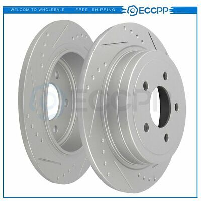 Performance Sport Dimple Slotted Brake Disc Rotor REAR 2pcs 5119DS
