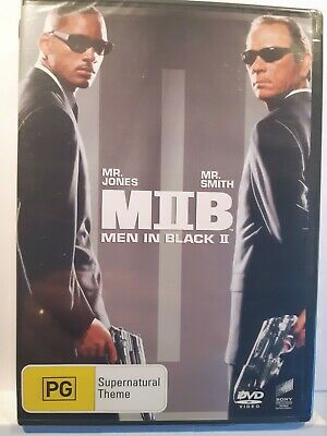 Men In Black II [Region 4 DVD] BRAND NEW & SEALED, Free Next Day Post from NSW