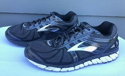 65e25a9cabf Brooks Beast 16 Men s Anthracite Black Silver Running Shoes Size US 11 EE (