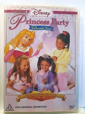 Princess Party - Princess Dress-Up Party : Vol 2 [Region 4 DVD] BRAND NEW & SEAL