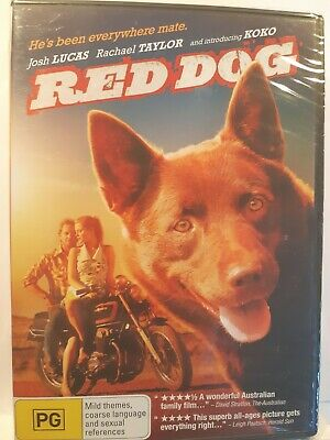 Red Dog [Region 4 DVD] BRAND NEW & SEALED, Free Next Day Post from NSW