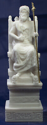 Zeus Statue Sculpture Greek God of the Sky and King of the Gods