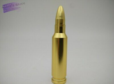 Bullet Shape MINI Metal Pipe Smoking Pipe Weed Pipe Hand Pipe Gold Dropshipping