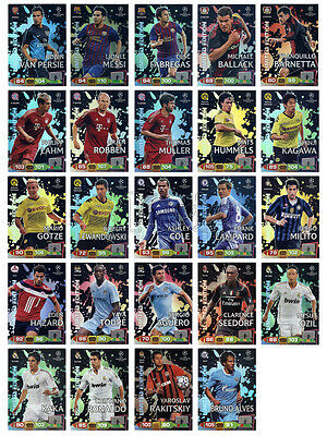 2011 2012 Champions League ADRENALYN XL PANINI - choose one Limited Edition card