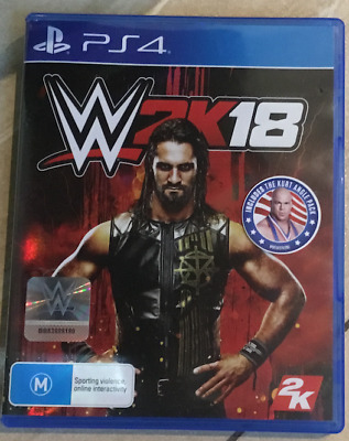 WWE 2k18 - Playstation 4 (PS4) Game (pick up available)