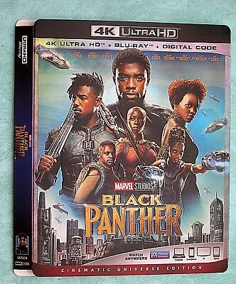 BLACK PANTHER, BLADE RUNNER, BIG LEBOWSKI, BLUE PLANET   4K Blu ray slipcover