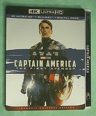 CAPTAIN AMERICA, CLIFFHANGER, CONSTANTINE CITY OF DEMONS  4K Blu ray slipcover