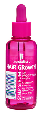 Lee Stafford Hair Growth Scalp Serum Treatment 75ml Boosts Growth at Root NEW 1