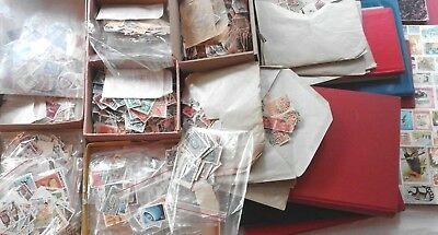+ OFFER: WORLD Mixed Good Lot 300 Stamps from Big Collection / Kiloware Konvolut