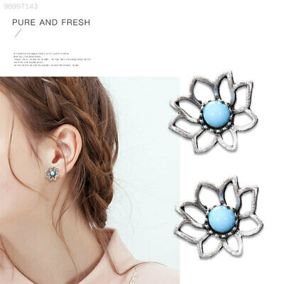 14F3 Bohemia Earring Suit Owl Accessories Turquoise Multi Style
