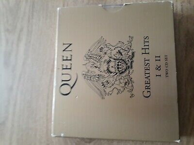 Queen greatest hits I &II 2 cd set