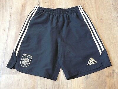Germany Adidas 2009 Football Shorts Pockets Size 13-14 Years D164 (N370)