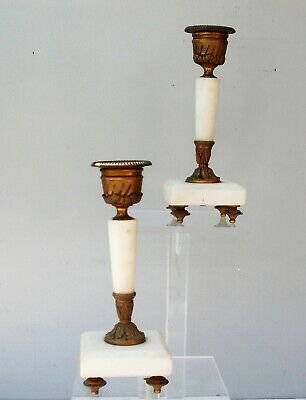 Pair of Candle Holders 19th Style Empire