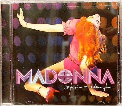 """Madonna - Confessions on a Dance Floor (CD 2006) Feat. """"Hung Up"""" """"Sorry"""" """"Jump"""""""