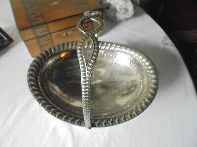 Antique Walker & Hall Silver Plated Fruit Bowl