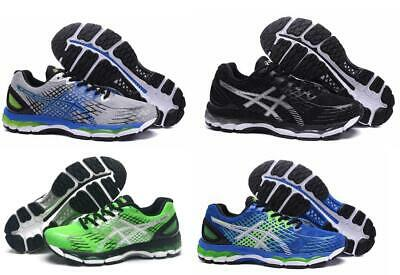 brand new 23674 a91c2 MENS NEW RUNNING Shoes asics Gel Nimbus 17 Trainers Running Sports Sneakers