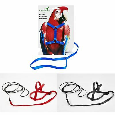 Bird / Parrot Exercise Harness - Various Sizes - FREE P&P!