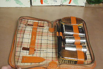 Vintage Men's Leather Case - Travel Grooming Kit – West Germany