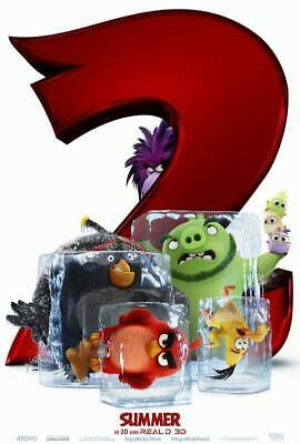 "25161 Hot Movie TV Shows - The Angry Birds Movie 2 2019 14""x20"" Poster"