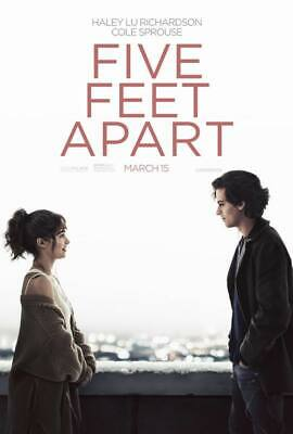 "24595 Hot Movie TV Shows - Five Feet Apart 2019 2 14""x20"" Poster"