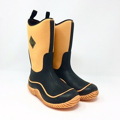 6d39072281aaf Kids The Original Muck Boot Company Boots Youth Size 1 Orange Black Work  Boots
