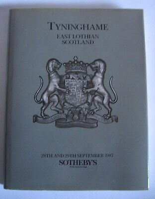 House Sale: Tyninghame,  East Lothian, Scotland Auction Catalogue