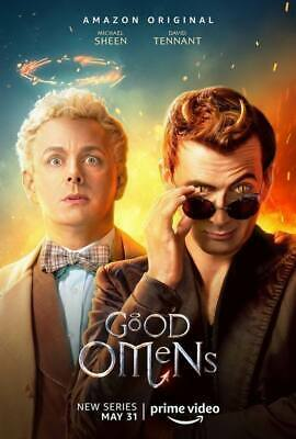 """24723 Hot Movie TV Shows - Good Omens 2019 4 14""""x20"""" Poster"""