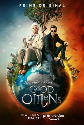 """24719 Hot Movie TV Shows - Good Omens 2019 14""""x20"""" Poster"""