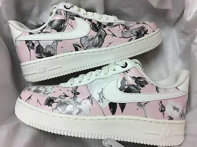 separation shoes a62f8 f41f5 Nike Air Force 1 07 Lxx Trainers Uk 4.5 Eu 38 Af1 Sample Floral White Ao1017