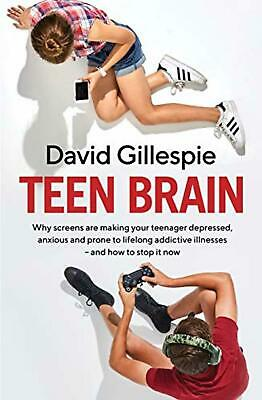 Teen Brain by David Gillespie Paperback Book NEW FREE SHIPPING