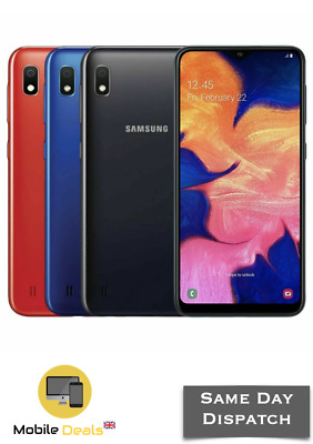 New Samsung Galaxy A10 32GB DualSIM 4G LTE Unlocked Android Smartphone 3 Colours